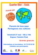 Animation parents de tous pays partageons nos cultures