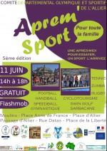 affiche Aprem sport Moulins